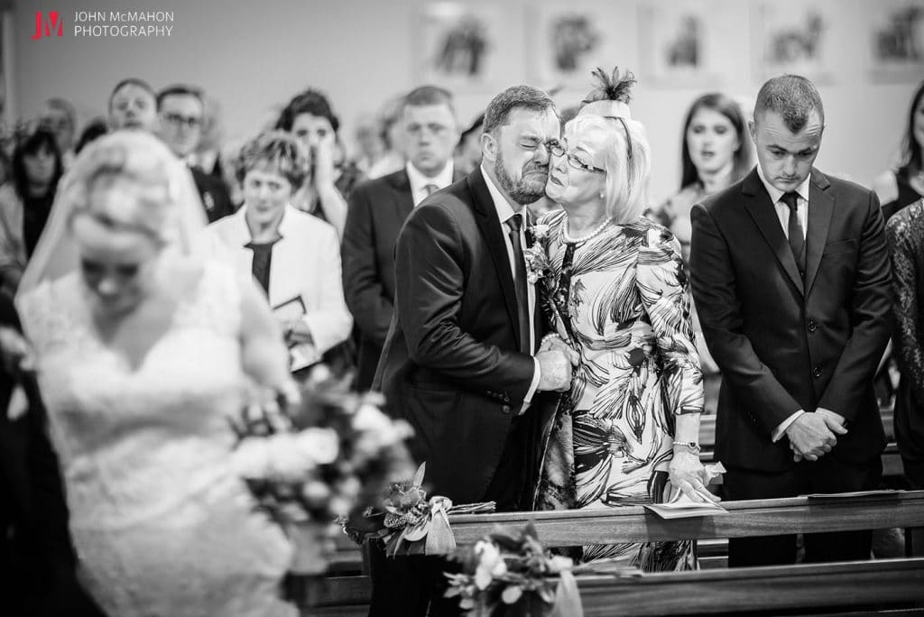Documentary wedding photo from galway based photographer John McMahon