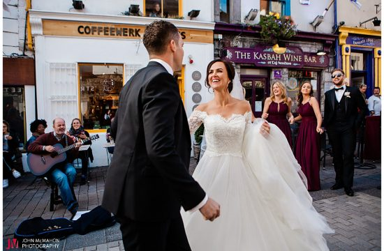 Wedding Quay St Galway