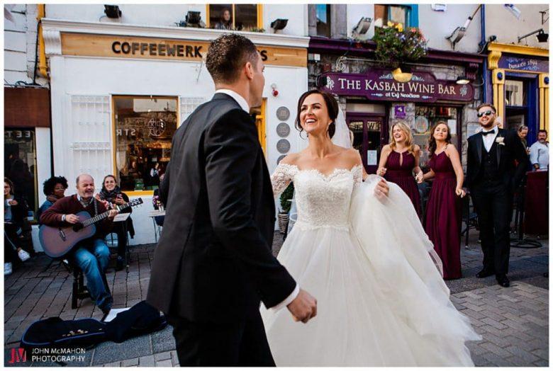 Wedding Quay St Galway