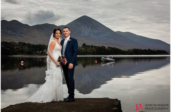 Croagh patrick on wedding day