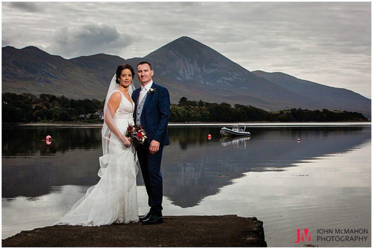 Croagh patrick on wedding day