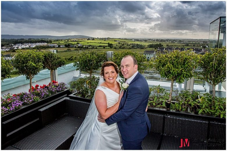 Rooftop Garden in the Loughrea Hotel & Spa
