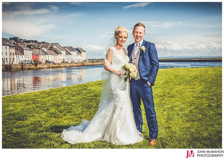 Claddagh Galway wedding day photos