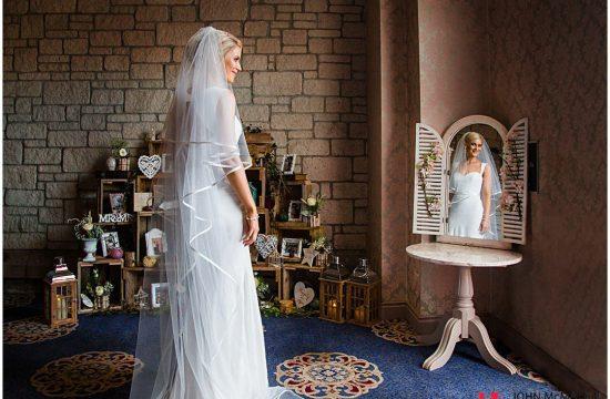 Beautiful Bride in Breaffy House Hotel castlebar