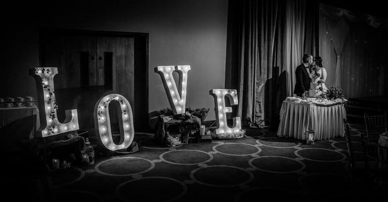 Wedding in the Lough Rea Hotel & Spa