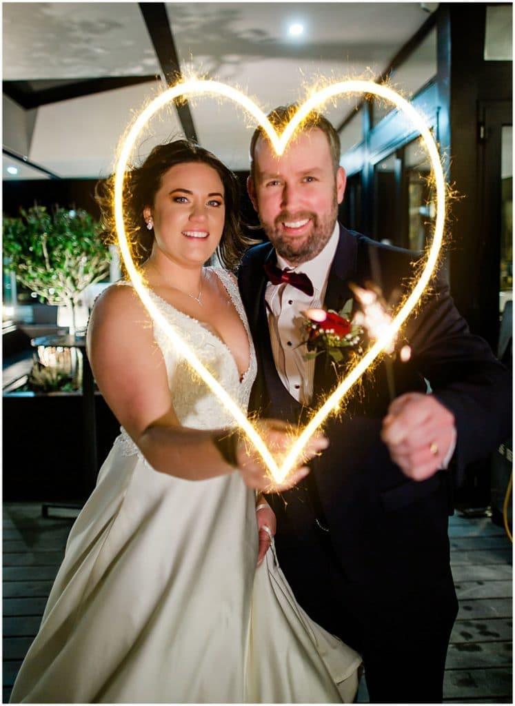 Dave Mongan wedding day