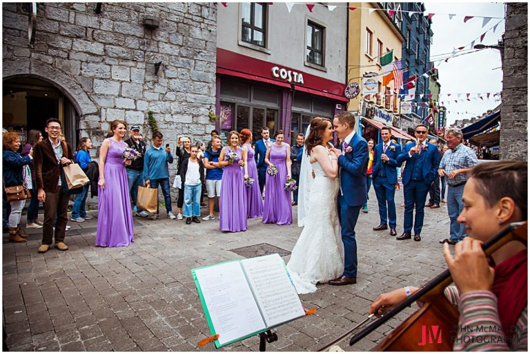 Wedding photos from galway City