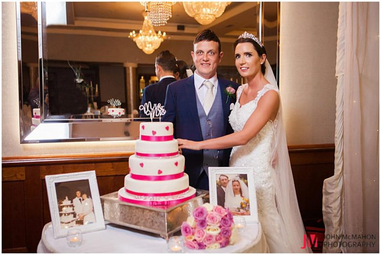 Valerie and Ian's wedding in the Salthill Hotel Galway