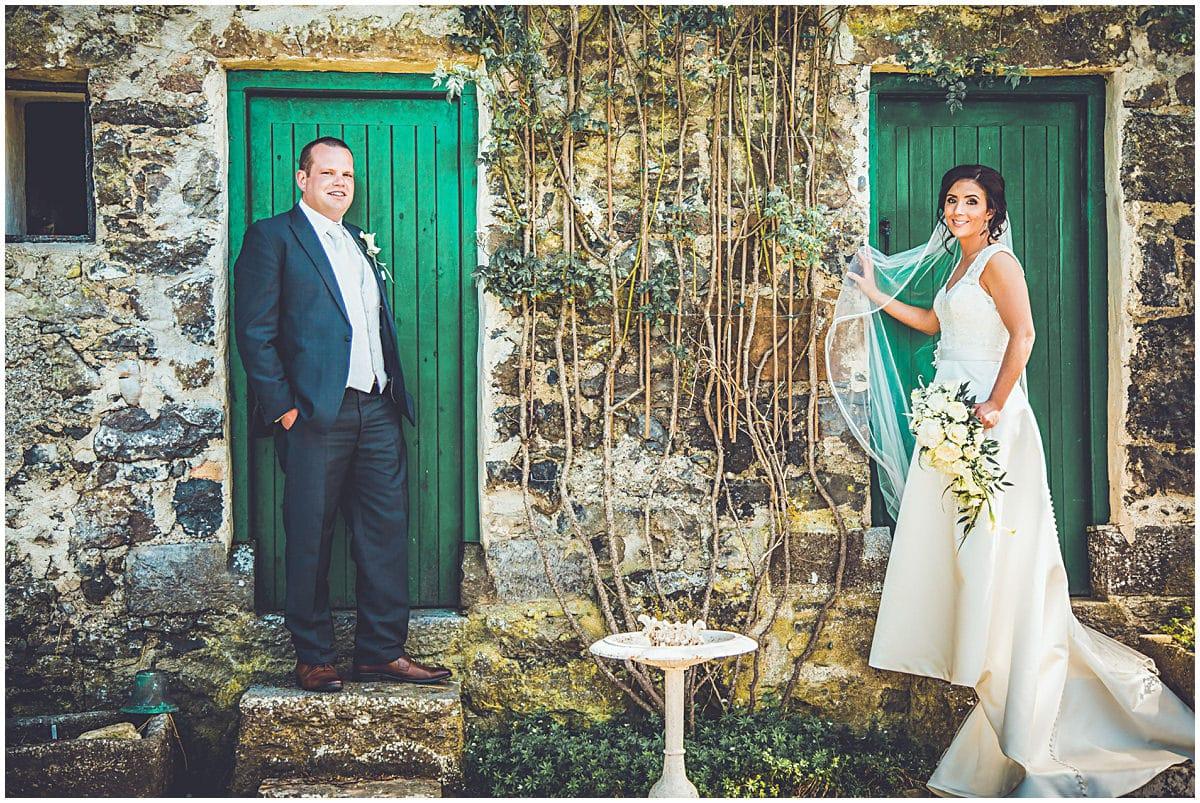 Laura & Peter's wedding photos in Woodvile Walled Gardens