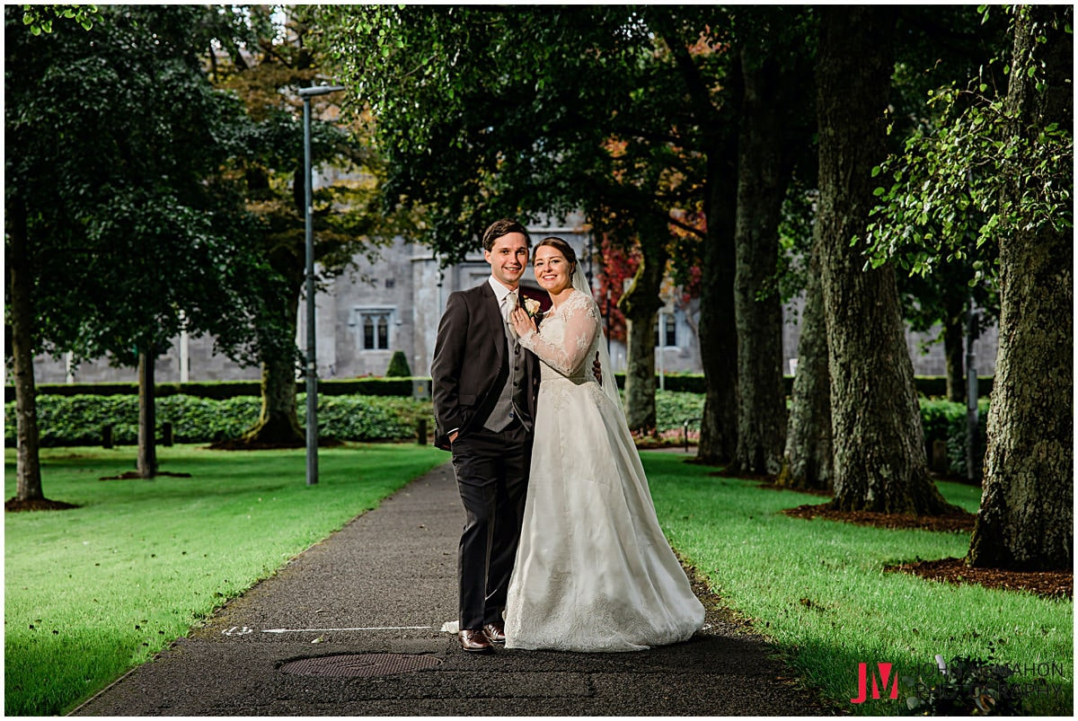 Amanda and Jack's wedding photos in NUIG