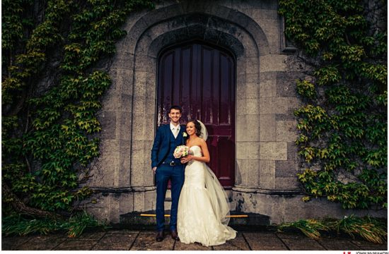Wedding Photos from the Quad in NUIG Galway
