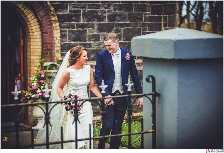 Wedding Garrison Church Renmore Galway